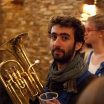 Govain - Trompettiste à la Brass de Pneu