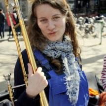 Cosette - Tromboniste à la Brass de Pneu