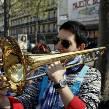 Bitterrand - Tromboniste à la Brass de Pneu