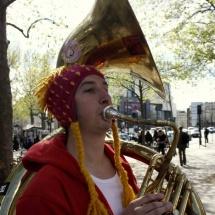 Henbenvoilà - Soubassophoniste à la Brass de Pneu