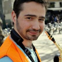 Pampers - Saxophoniste à la Brass de Pneu