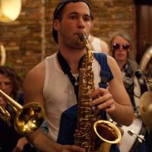 Magloire - Saxophoniste à la Brass de Pneu