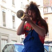 JeanMouille - Trompettiste à la Brass de Pneu