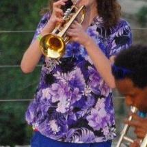 Farmer - Trompettiste à la Brass de Pneu