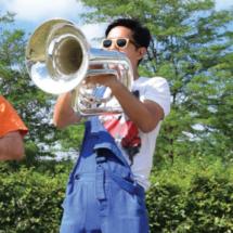 Jonepi - Euphoniumiste à la Brass de Pneu