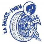 Le logo de La Brass de Pneu, fanfare Paris