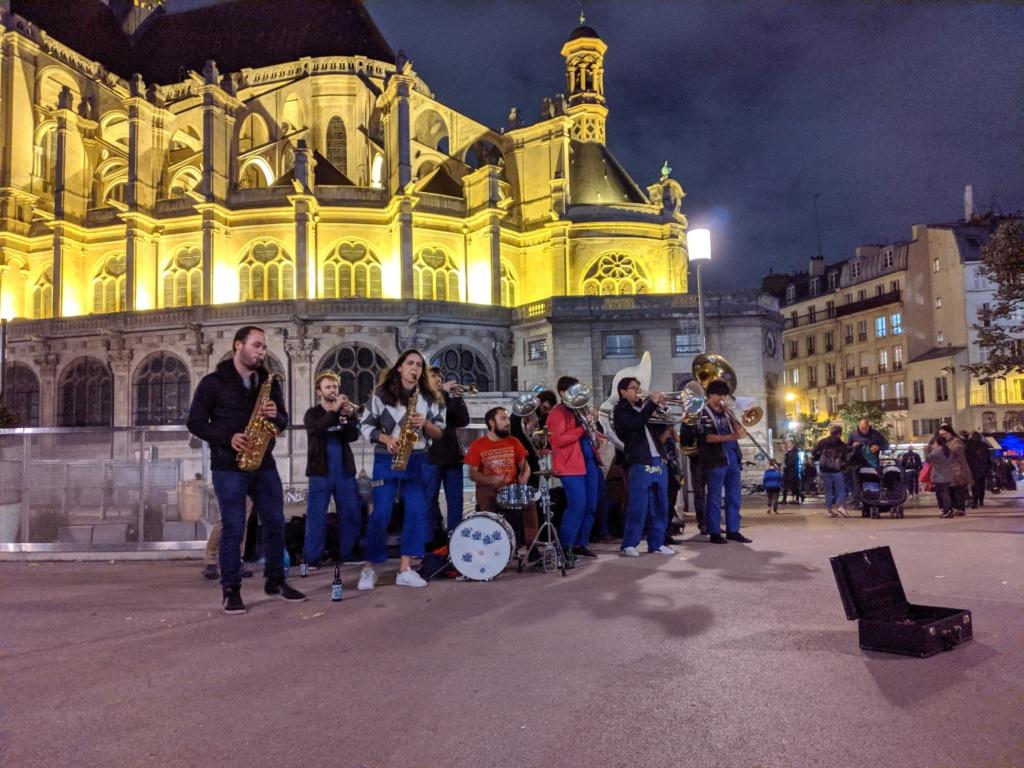 Brass de Pneu - Concert Fanfare saint Eustache Paris