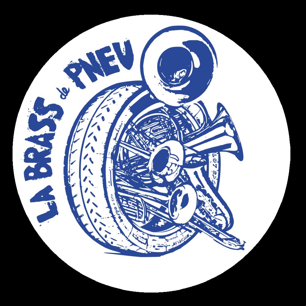 Logo Brass de Pneu Fanfare Paris