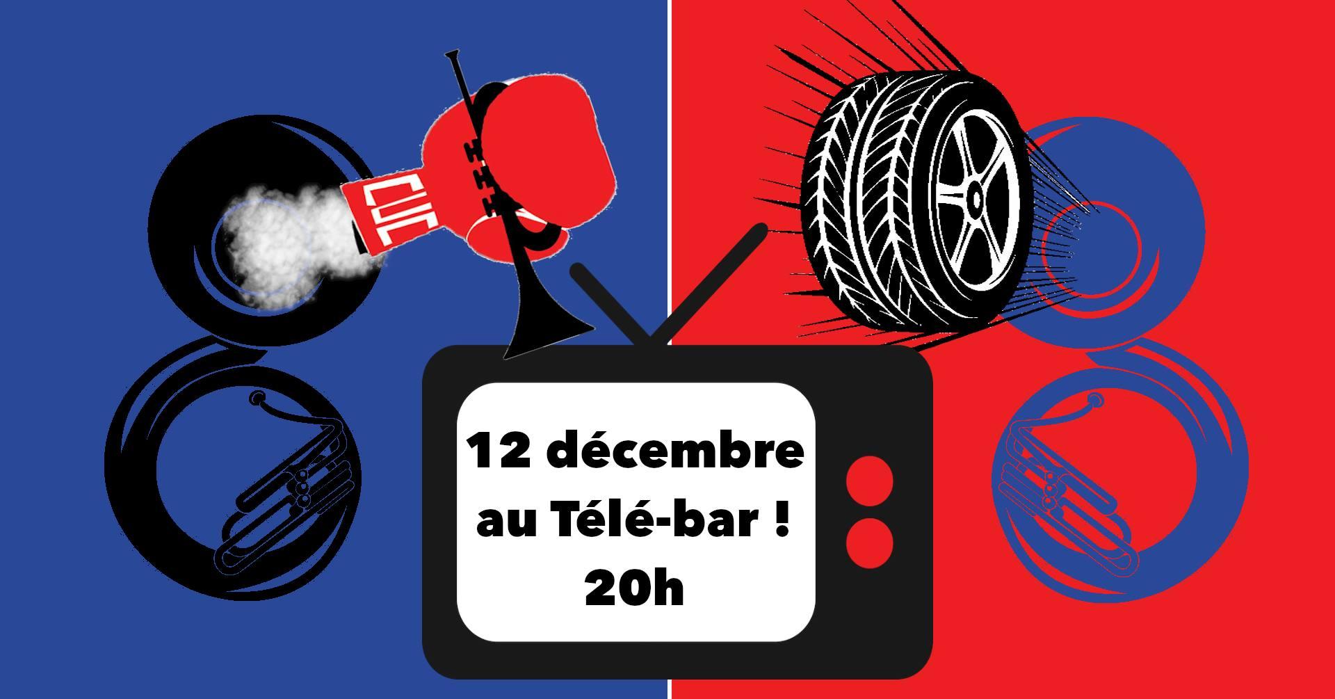 Concert Télé-bar Fanfare Paris