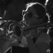 Souk - Tromboniste à la Brass de Pneu, Fanfare Paris